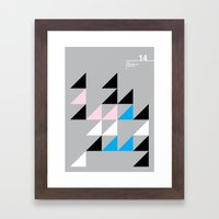 14_Wingdings_y Framed Art Print