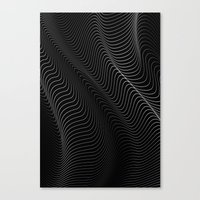 Minimal Curves II Canvas Print