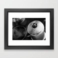 Brewing Steam Framed Art Print