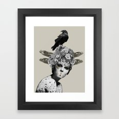 Shush  Framed Art Print