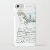 diamond iPhone & iPod Cases featuring Diamond by TamSanSerif
