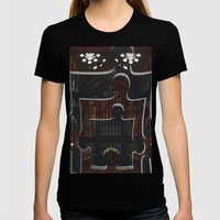 Distracting A Ghost: 1st… Womens Fitted Tee Black SMALL