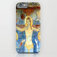 Christ On The Cross Fres… iPhone 6 Slim Case