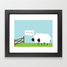 After Ewe Framed Art Print