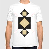 Base Mens Fitted Tee White SMALL