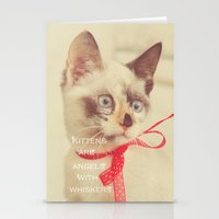 Angels with Whiskers Stationery Cards