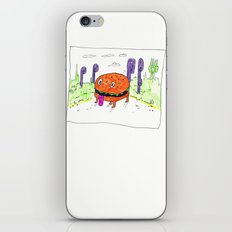 burger dog iPhone & iPod Skin