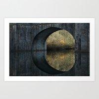 Eye Of The Bridge Art Print