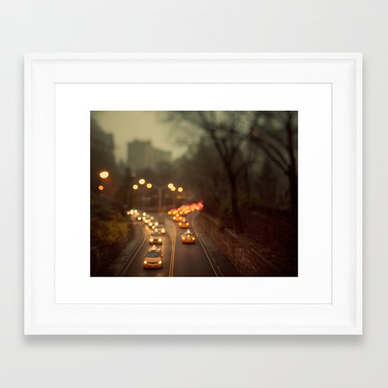 Taxicab Confessions - New York Framed Art Print