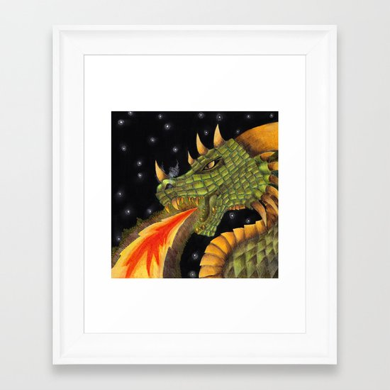 Typhon Framed Art Print