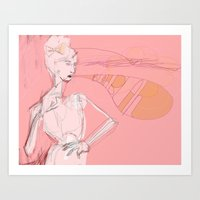 Untitled: BLAH, BLAh. Art Print