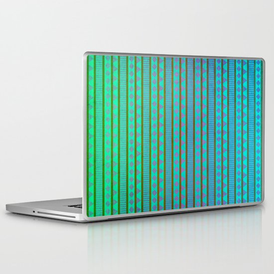 Aztec Summer Laptop & iPad Skin