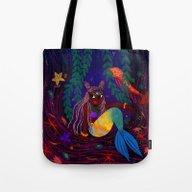 Tropical Mermadia Tote Bag