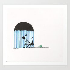 You're Doing it All Wrong Art Print