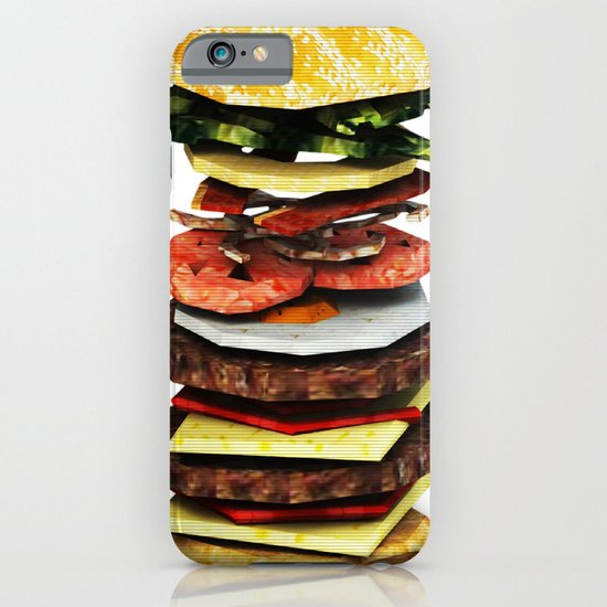 Graphic Burger iPhone & iPod Case