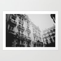 Paris Nº4 Art Print