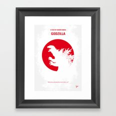 No029-2 My Godzilla 1954… Framed Art Print