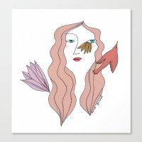 Sinsajo Canvas Print