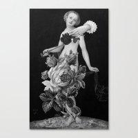 Lucrecia Canvas Print