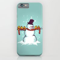Sharing Is Caring (Winte… iPhone 6 Slim Case
