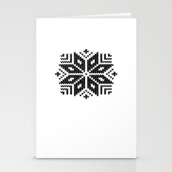 knit flake Stationery Card