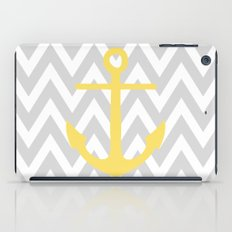 Chevron Anchor iPad Case
