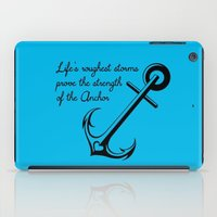 Who Is Your Anchor? iPad Case