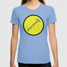 Captain Hammer Womens Fitted Tee Tri-Blue SMALL