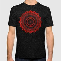 Omulyána Red Gallery Ma… Mens Fitted Tee Tri-Black SMALL