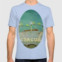 Circus II Mens Fitted Tee Athletic Blue SMALL