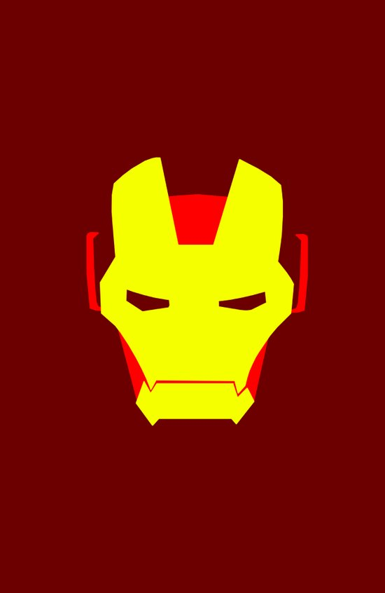 Minimalist Iron Man Art Print
