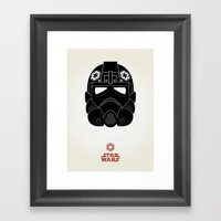 Imperial Pilot Framed Art Print