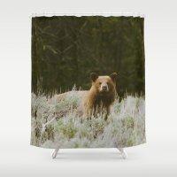 Bush Bear Shower Curtain