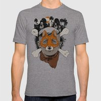The Lost Boys Mens Fitted Tee Tri-Grey SMALL