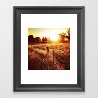 Exeter Sunset No. 1 (Col… Framed Art Print
