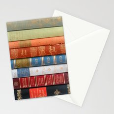 Vintage Books Stationery Cards