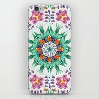 FLIGHT Cloudberry Mandala iPhone & iPod Skin