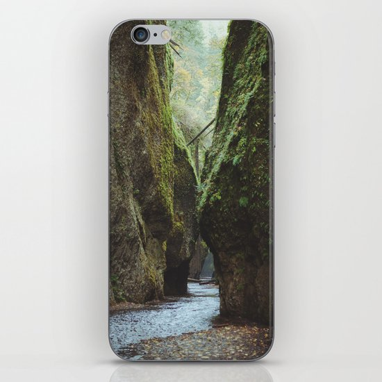 Oneonta Gorge iPhone & iPod Skin