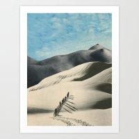 The Big Push Art Print
