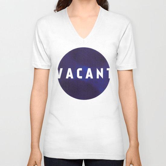 Vacant by Galaxy Eyes & Garima Dhawan V-neck T-shirt