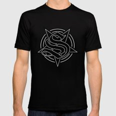 Sinister Star Black SMALL Mens Fitted Tee