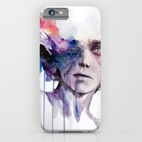 iPhone Cases featuring l'assenza by agnes-cecile