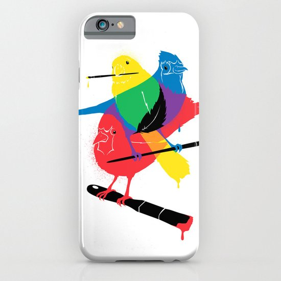 Colors of a Feather iPhone & iPod Case