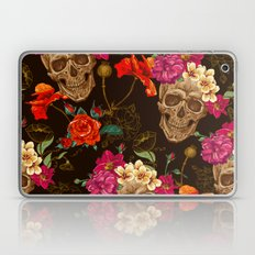Flowers And Skull Laptop & iPad Skin