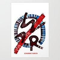 GENOCIDE  Art Print