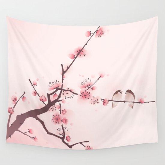Asian style cat print art