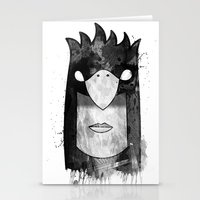 Bird Head Stationery Cards