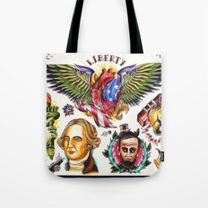 liberty flash Tote Bag