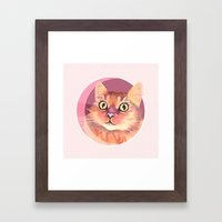 Miss Meowgi Framed Art Print