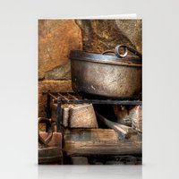 Old Cook Stove Stationery Cards